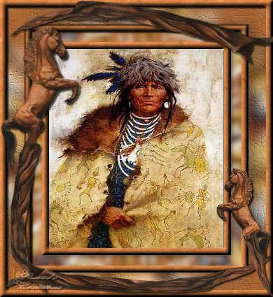 cowboy indien